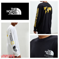 THE NORTH FACE Unisex Street Style Collaboration Long Sleeves