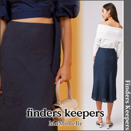 Finders Keepers 2019-20AW Casual Style Medium Python Midi Skirts (MB-D2352)