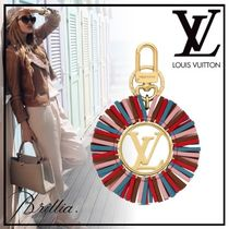 Louis Vuitton Unisex Tassel Leather Fringes Keychains & Bag Charms