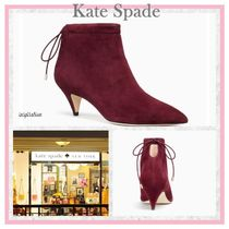 kate spade new york Sheepskin Plain Pin Heels Elegant Style