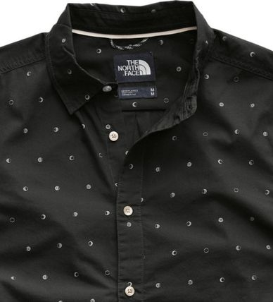 THE NORTH FACE Shirts Tropical Patterns Other Animal Patterns Cotton Short Sleeves 3