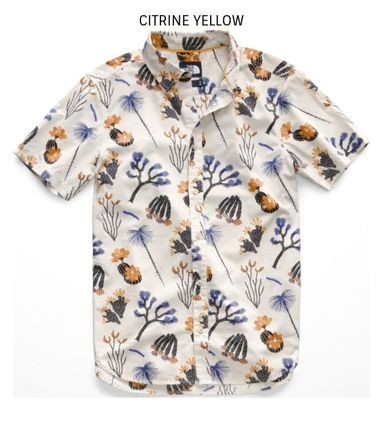 THE NORTH FACE Shirts Tropical Patterns Other Animal Patterns Cotton Short Sleeves 5