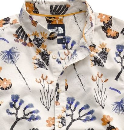 THE NORTH FACE Shirts Tropical Patterns Other Animal Patterns Cotton Short Sleeves 6