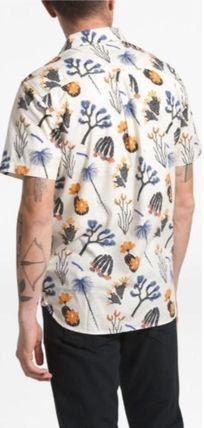 THE NORTH FACE Shirts Tropical Patterns Other Animal Patterns Cotton Short Sleeves 8