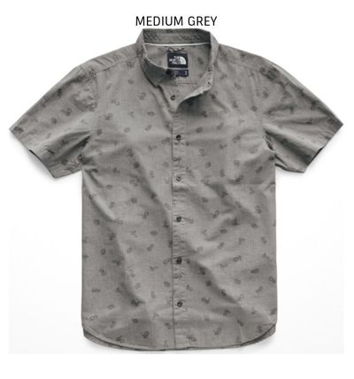 THE NORTH FACE Shirts Tropical Patterns Other Animal Patterns Cotton Short Sleeves 9
