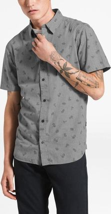 THE NORTH FACE Shirts Tropical Patterns Other Animal Patterns Cotton Short Sleeves 12