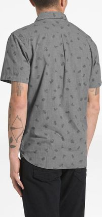 THE NORTH FACE Shirts Tropical Patterns Other Animal Patterns Cotton Short Sleeves 13