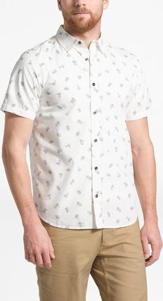 THE NORTH FACE Shirts Tropical Patterns Other Animal Patterns Cotton Short Sleeves 16