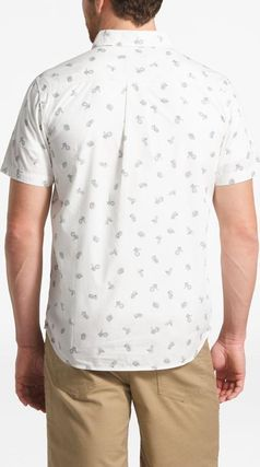 THE NORTH FACE Shirts Tropical Patterns Other Animal Patterns Cotton Short Sleeves 17