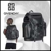 GIVENCHY Unisex Leather Backpacks