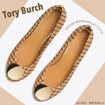 Tory Burch PATOS Other Check Patterns Open Toe Rubber Sole Office Style
