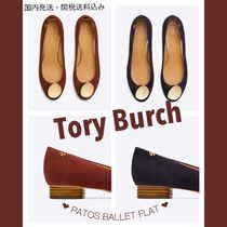 Tory Burch PATOS Open Toe Suede Plain Office Style Espadrille Shoes