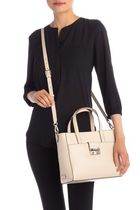 Cole Haan 2WAY Plain Leather Office Style Crossbody Totes