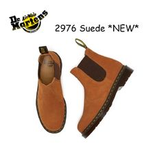 Dr Martens 2976 Casual Style Suede Street Style Plain Ankle & Booties Boots
