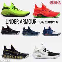 UNDER ARMOUR CURRY Unisex Street Style Plain Sneakers