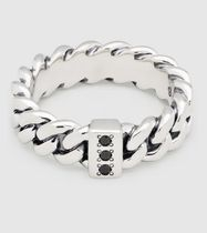 Tom Wood Unisex Chain Silver Rings