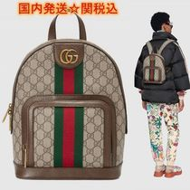GUCCI Ophidia Street Style Backpacks