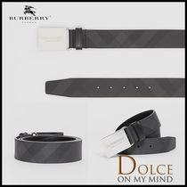 Burberry Gingham Belts