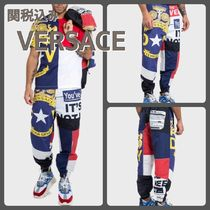 VERSACE Printed Pants Patterned Pants