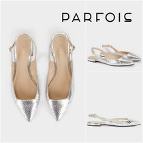 PARFOIS Rubber Sole Plain Other Animal Patterns Elegant Style