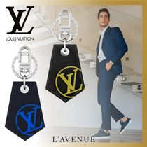 Louis Vuitton EPI Blended Fabrics Leather Keychains & Holders