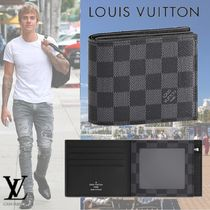 Louis Vuitton DAMIER GRAPHITE Canvas Folding Wallets