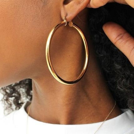 Casual Style Street Style Brass Earrings