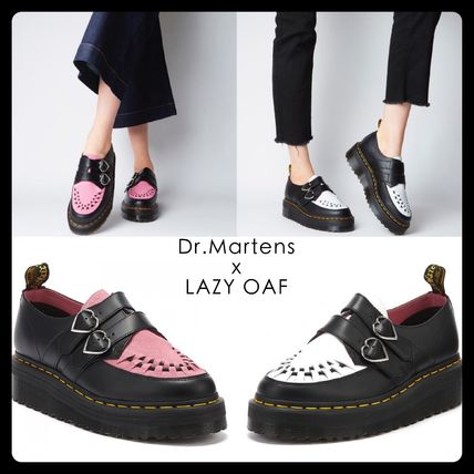 Heart Platform Round Toe Casual Style Collaboration