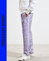 Urban Outfitters Printed Pants Flower Patterns Street Style Patterned Pants