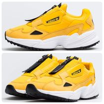adidas FALCON Rubber Sole Casual Style Unisex Street Style