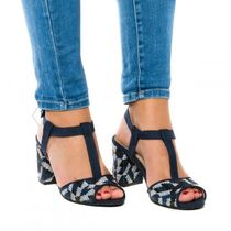 NAE Vegan Shoes Open Toe Casual Style Chunky Heels Heeled Sandals