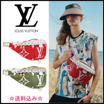 Louis Vuitton BUMBAG Casual Style Unisex Canvas Street Style Shoulder Bags