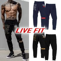 Live Fit Unisex Street Style Yoga & Fitness Bottoms