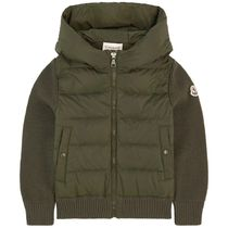 MONCLER Petit Khaki Kids Girl Tops