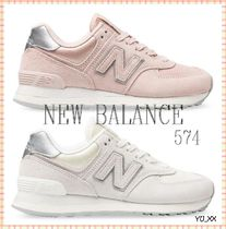 New Balance 574 Street Style Logo Low-Top Sneakers