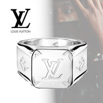 Louis Vuitton Monogram Street Style Metal Rings