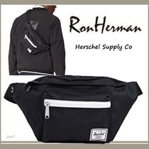 Ron Herman Unisex Street Style Plain Hip Packs