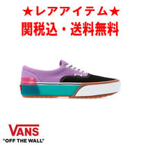 VANS ERA Gingham Rubber Sole Casual Style Unisex Street Style