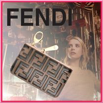 FENDI BAGUETTE Leather Keychains & Bag Charms