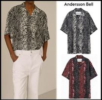 ANDERSSON BELL Street Style Short Sleeves Shirts