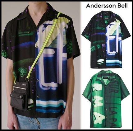 ANDERSSON BELL Shirts Street Style Short Sleeves Shirts