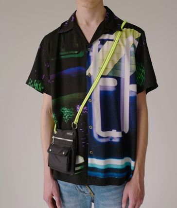 ANDERSSON BELL Shirts Street Style Short Sleeves Shirts 3