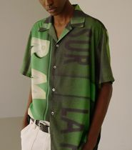 ANDERSSON BELL Shirts Street Style Short Sleeves Shirts 4