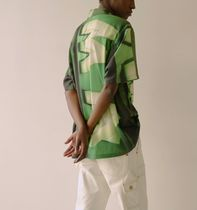 ANDERSSON BELL Shirts Street Style Short Sleeves Shirts 6