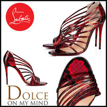 Christian Louboutin Other Animal Patterns Pin Heels Stiletto Pumps & Mules