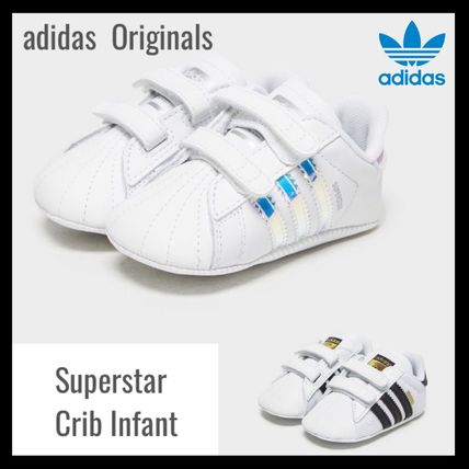 adidas SUPERSTAR 2019 SS Street Style Baby Girl Shoes ( 1298692152290)