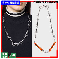 Heron Preston Casual Style Unisex Street Style Chain Necklaces & Pendants