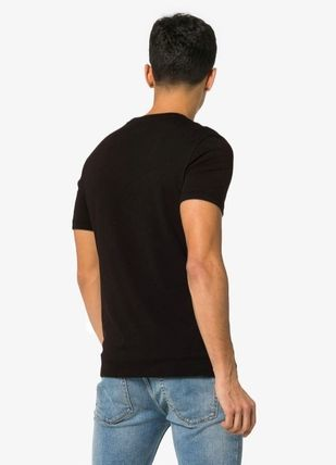 Dolce & Gabbana Crew Neck Crew Neck Street Style Plain Cotton Short Sleeves 6