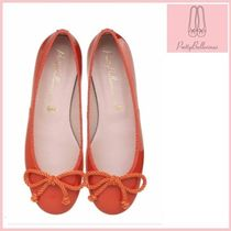 Pretty Ballerinas Round Toe Enamel Plain Party Style Flats