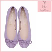 Pretty Ballerinas Round Toe Suede Plain Party Style Flats